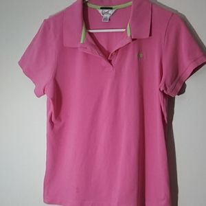 Lilly Pulitzer polo size XL pink